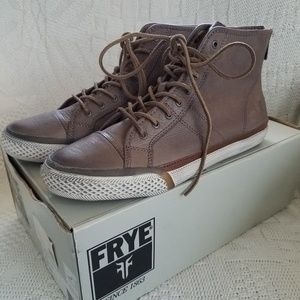 FRYE High Tops Greene High Back Zip Ankle Boot
